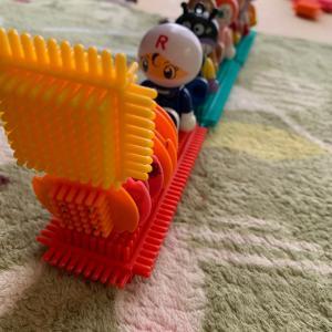 すごい!息子が汽車作ったよ!