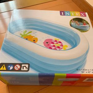 熊谷のトイザラスでプール買いました。