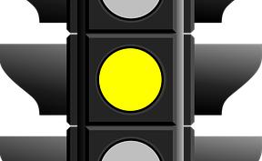 黄色信号かも