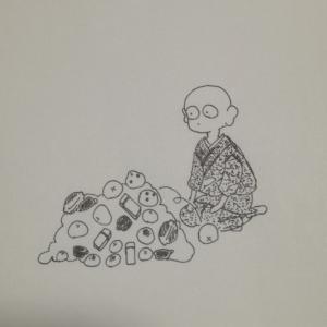 俗世の専業BOUZ life【オヤツ事情】
