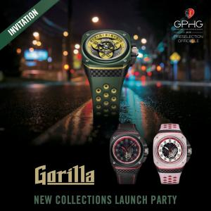 オーデマピケのデザイナーと、エンジニアが作った腕時計 Gorillaの新作発表パーティー