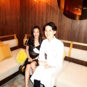 お祝いの席を彩るレストランUnisはとても素敵なLIVEレストランでした。
