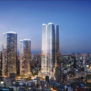 2023年に完成。アマンレジデンス。で…六本木から東京タワーが見えなくなる