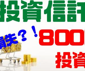 【毎日更新】米投資信託で大損失?!800万円運用した収益を大公開!