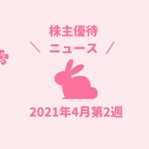 2021年4月第2週 株主優待関連ニュースおまとめ便 新設・変更・廃止