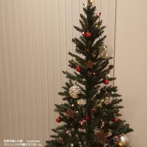 天井高4mのリビングに大人のクリスマスツリーを飾りました