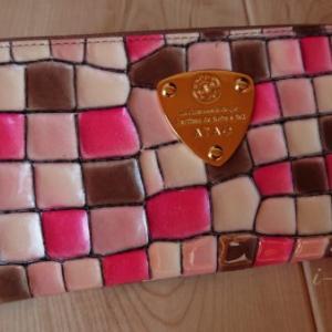 今日から春財布【アタオ リモヴィトロ チェリー】桜のステンドグラスにうっとり