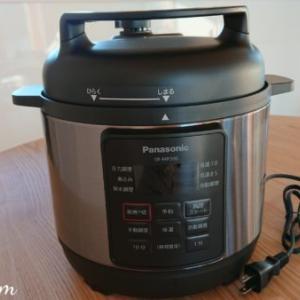 開封!ときめく電気圧力なべPanasonic SR-MP300-K