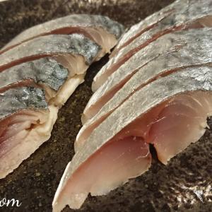 自家製「〆鯖」釣りたてのサバで作ってみた