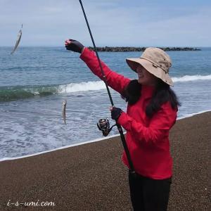 釣行 | キス釣りシーズン到来!キャスティング練習からの~プルルル