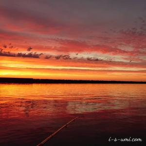 釣行 | 夫の回復「絶景の夕まづめ」