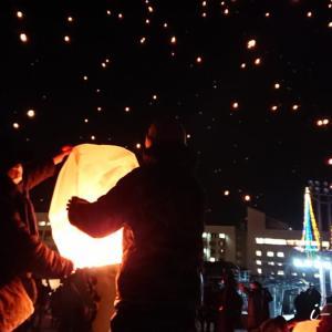 涙。冬の人気イベント「津南町スカイランタン2020」開催中止
