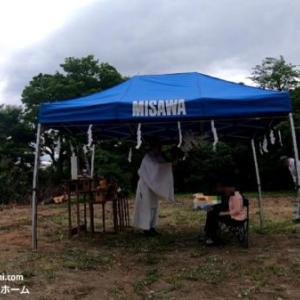 ミサワホームの家づくり⑧着工(地鎮祭)土地神様と風と雨