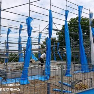 建築現場③基礎工事【立ち上がりコンクリート】ミサワホーム