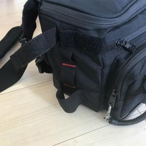 ロッドホルダー付きタックルバッグにロッドホルダー付けてみた
