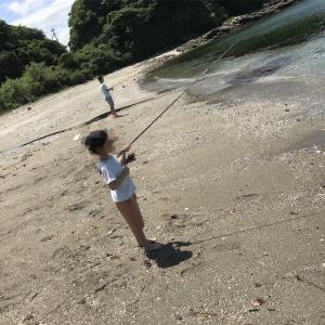 サーフキス釣り