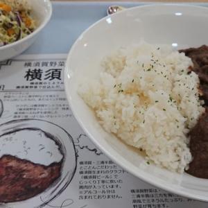 【飯事風聞書】横須賀セントラルキッチンのカレーセット