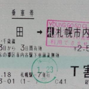 【大学時代の思い出】JR北海道 YOUNG GOGO CLUBの驚くべき割引