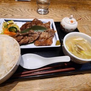 【奥州・仙台②】【飯事風聞書】飯・魚・酒・肴松島の牛タン[厚切り]定食