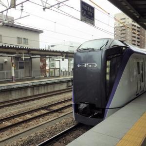 VIEWカード・グリーン車利用券(新幹線・特急列車用) を使って帰る (特急あずさ34号)