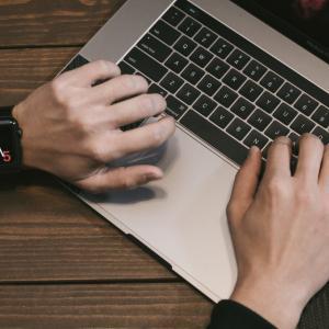 タッチタイピングができないのでe-typingで練習している経過報告