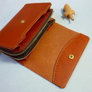 第2の財布とは!・・L字ファスナー・中財布