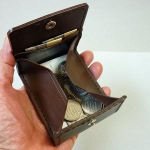 小現金はボックス型へ・・・薄手のカードを1枚