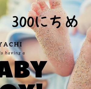 家内の誕生日を息子とお祝い+生後300日 【パパ300日目】