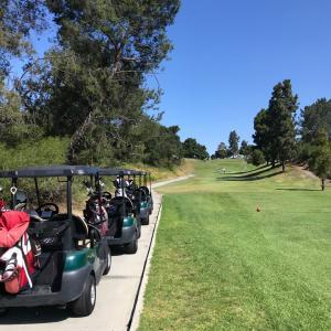 久しぶりのバルボアパークのゴルフトーナメント