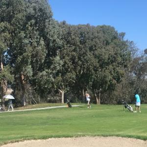 連チャン3日目のゴルフ