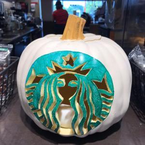 スタバのかぼちゃ