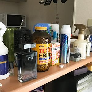 キッチンカウンターの上を片付ける3つのポイント。物でゴチャゴチャする理由は悪習慣!