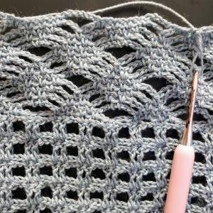 初めて編む模様編み