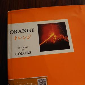 オレンジとブルー