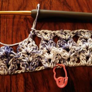 キニナルから編み直し