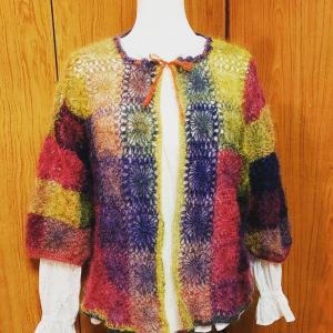 今年も「愛の編み物展」