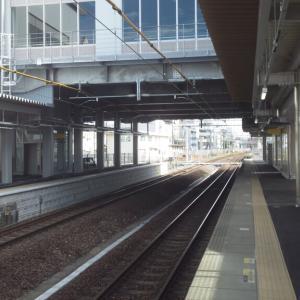 桑名駅改良工事進捗状況(2020年6月・2)  -三重県桑名市立教まちづくり拠点施設 韓国語教室「-話したくなる-韓国語入門」-