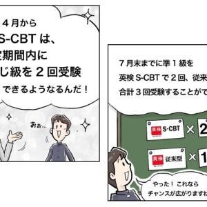 2021年度第1回英検S-CBT・6月実施分の受験受付がスタート!