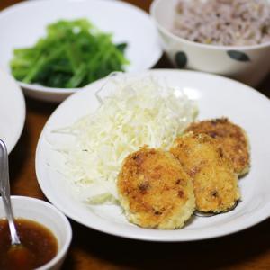 やさごはん☆ヴィーガン対応豆腐&おからパウダーでコロッケ