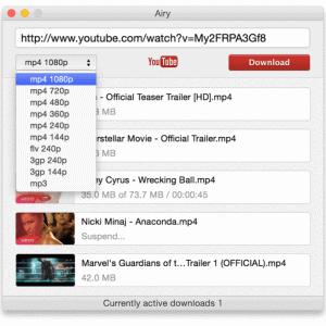 Mac YouTube MP3 ダウンローダ Top 3
