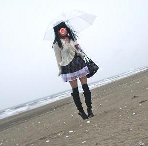 静かな海岸
