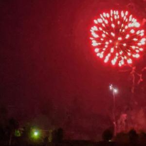 【2020】田川市民プールは本年度営業休止 / 6月21日夜に上がった25発の花火