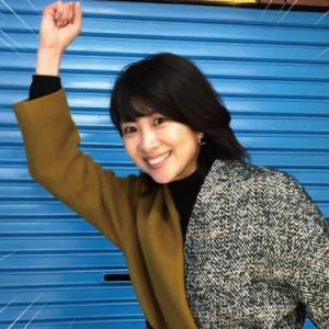 【奇跡】伊田商店街に元バドミントン選手の潮田玲子さんが降臨…! シャッターにサインも書いてもらったぞ!