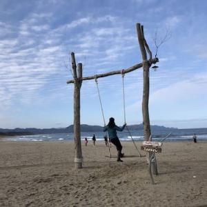 夕日ヶ浦温泉ビーチブランコゆらり【丹後半島】