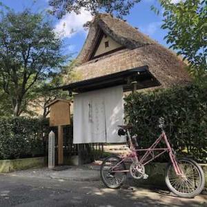 Alex-Moulton SAKURAで行く京都嵐山とMac Book M1ヽ(=´▽`=)ノ