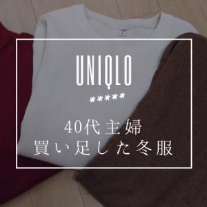 【2019年冬服】ユニクロで買い足し。タートル・ワンピ・ワッフル【40代主婦】