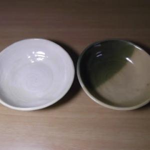 手づくりの鉢とお皿