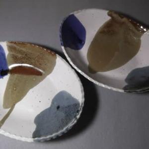 楕円のカレー皿/10月の新作