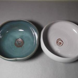 四方鉢とボウル鉢