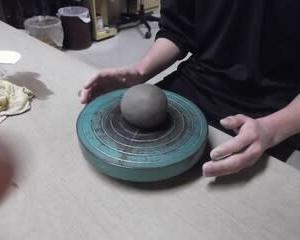 陶芸の基本/小鉢、中鉢、大鉢づくり (玉づくりの基本)/連載4